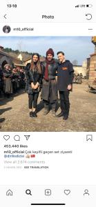 Arsenal Star Mesut Ozil Visits Popular Turkish Drama Set with his